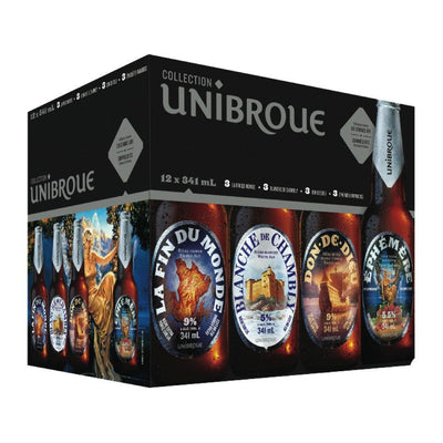 COLLECTION UNIBROUE BIÈRE 12X341 ML
