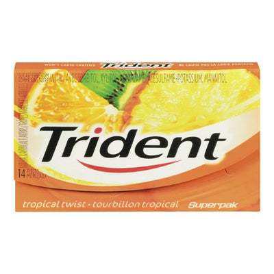 TRIDENT TOURBILLON TROPICAL GOMME 14 UN