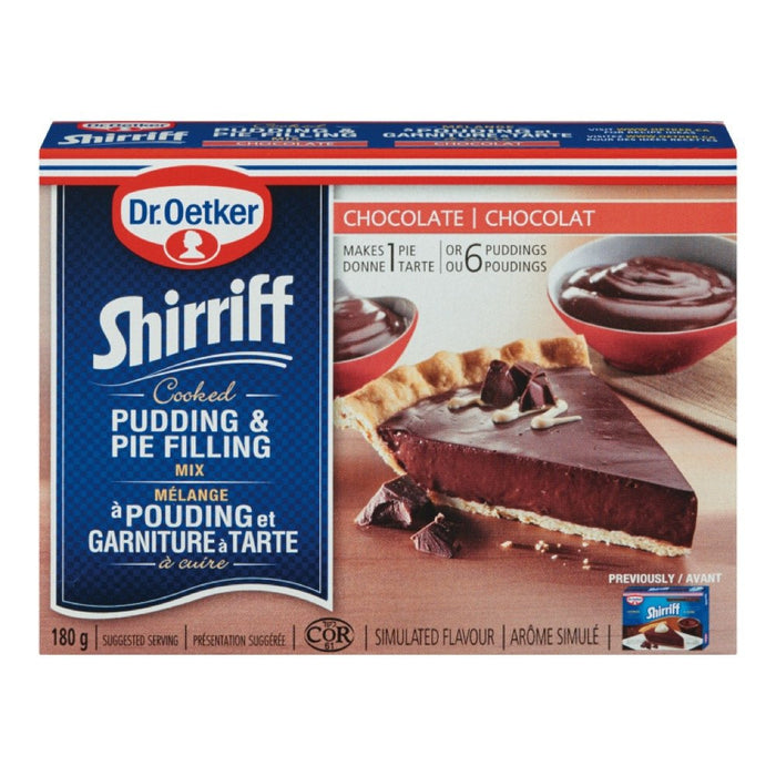 SHIRRIFF GARNITURE TARTE CHOCOLAT  180 G