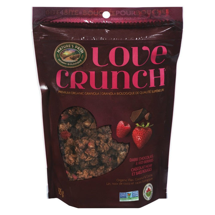 NATURE'S PATH LOVE CROQUANT CHOCOLAT NOIR  325 G