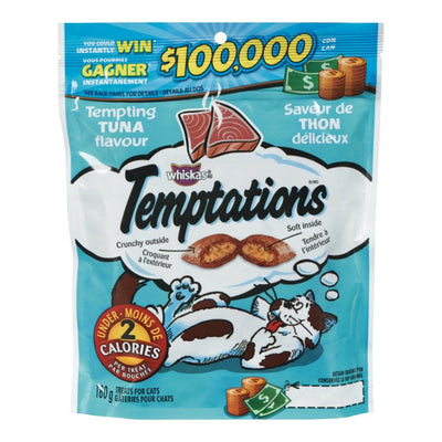 WHISKAS TEMPTATIONS GATERIES POUR CHATS THON 180 G