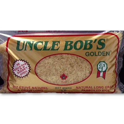 UNCLE BOB'S RIZ ETUVE NATUREL 907 G