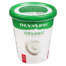 OLYMPIC ORGANIC YOGOURT 3.5%MG NATURE 650 G