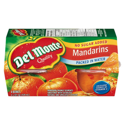 DELMONTE COUPE FRUITS MANDARIN 107 ML