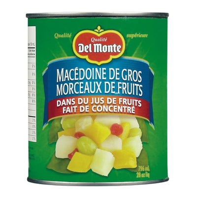 DELMONTE COCKTAIL FRUITS MÉLANGE SANS SUCRE 796 ML