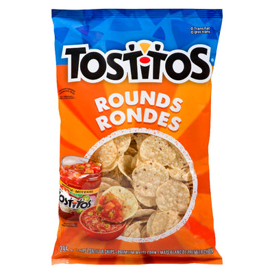 TOSTITOS TORTILLA CHIPS RONDES 295 G
