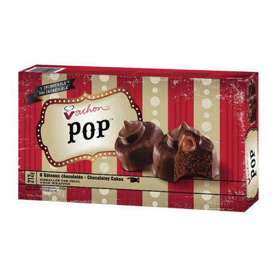 VACHON POP GATEAUX CHOCOLATES 8S 212 G