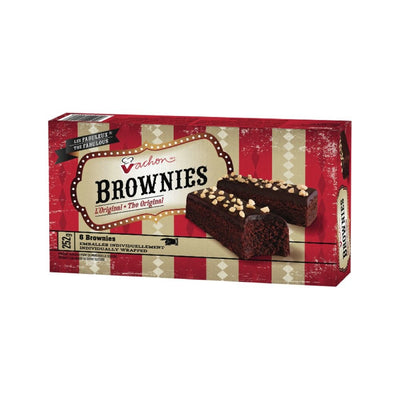 VACHON BROWNIES ORIGINAL 6S 252 G