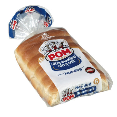 POM PAIN HOT DOG ULTRA MOELLEUX 6 UN