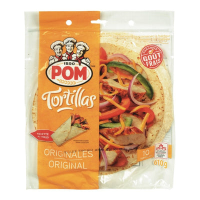 POM NEW-YORK TORTILLA GRAND 610 G