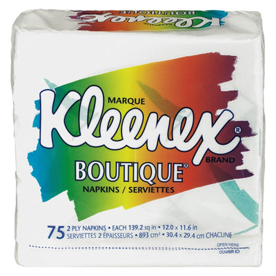 KLEENEX SERVIETTES DE TABLE BOUTIQUE 75 UN