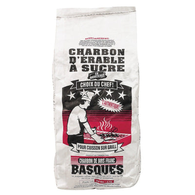 BOIS FRANCS BASQUE CHARBON 4 KG