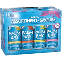 PALM BAY, TROPIX ASSORTIMENT DE SAVEURS, 12X355 ML