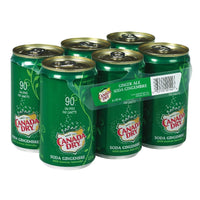 CANADA DRY SODA GINGEMBRE 6x222 ML