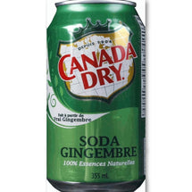 CANADA DRY SODA GINGEMBRE 355 ML
