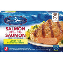 BLUE WATER SAUMON GRILLÉ CITRON 179 G