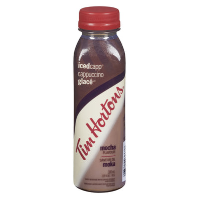 TIM HORTONS CAPPUCCINO GLACE BREUVAGE LAITIER 1.95% MOKA 300 ML