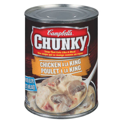 CAMBELL CHUNKY SOUPE POULET À  LA KING 540 ML
