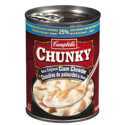 CAMBELL CHUNKY SOUPE PALOURDES 540 ML