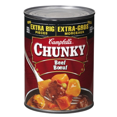 CAMBELL CHUNKY SOUPE BOEUF 540 ML
