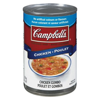 CAMPBELL SOUPE POULET GOMBOS 284 ML