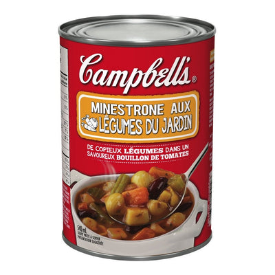 CAMPBELL SOUPE MINESTRONE JARDIN 540 ML