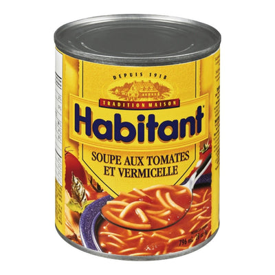 HABITANT SOUPE TOMATE VERMICELLE 796 ML