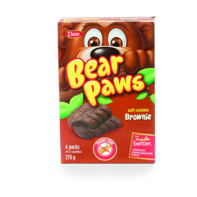 DARE PATTES D'OURS BROWNIE 270 G