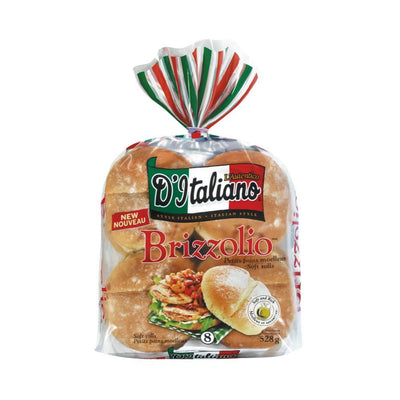 D'ITALIANO BRIZZOLIO PAIN HAMBURGER 528 G