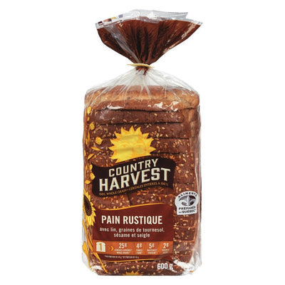 COUNTRY HARVEST PAIN RUSTIQUE 600 G