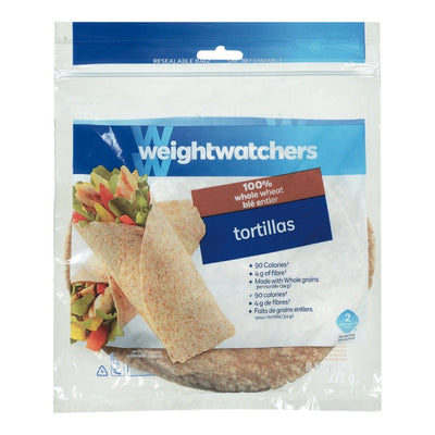 WEIGHT WATCHERS TORTILLAS BLE ENTIER 8S 272 G