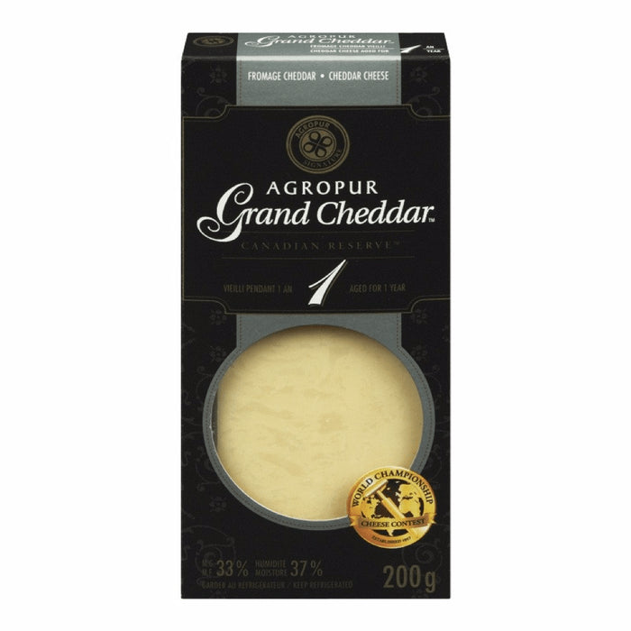 AGROPUR FROMAGE GRAND CHEDDAR 1 AN 200 G