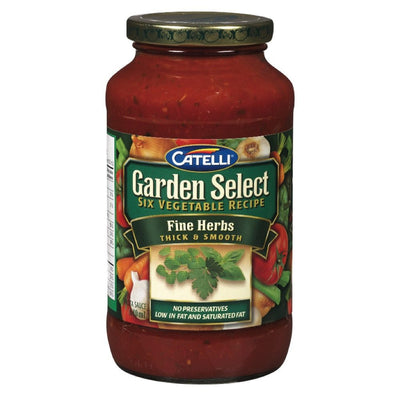 CATELLI SAUCE AUX FINES HERBES 640 ML