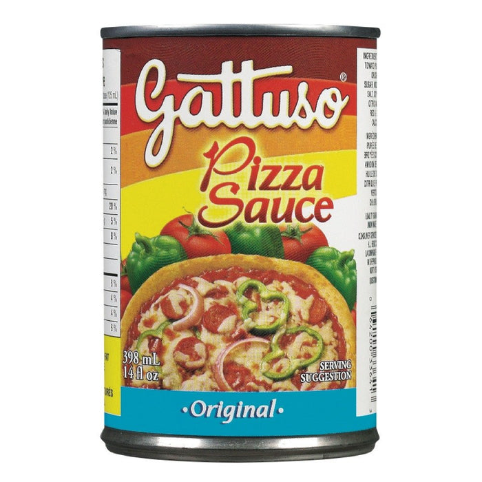 GATTUSO SAUCE À  PIZZA 398 ML