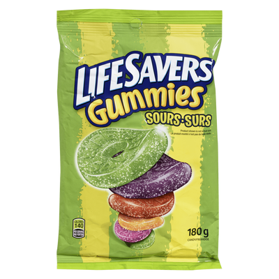 LIFE SAVERS GUMMIES  180 G