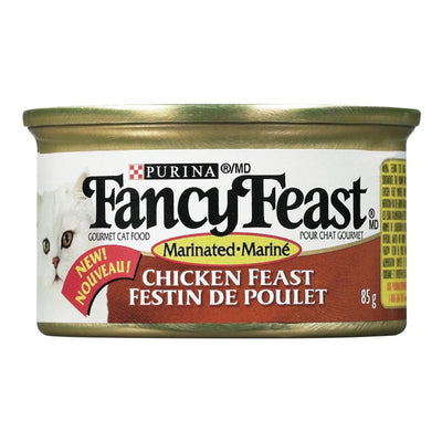 FANCY FEAST NOURRITURE CHAT POULET MARINE 85 G