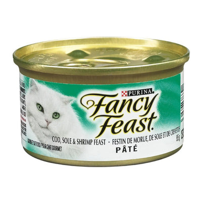 FANCY FEAST NOURRITURE CHAT MOR SOLE CREVETTE 85 G