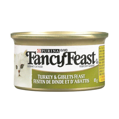 FANCY FEAST NOURRITURE CHAT ABATS DINDE 85 G