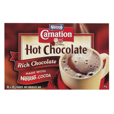 CARNATION CHOCOLAT CHAUD INSTANT RICHE 28 G