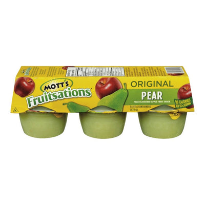 MOTT'S FRUITS AUX POIRE ORIGINAL 113 G