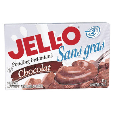 JELL-O POUDING INSTANT CHOCOLAT LEGER 40 G