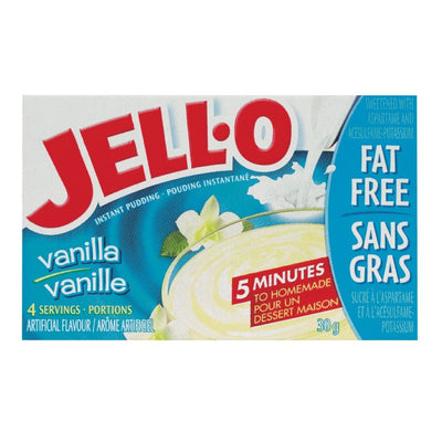 JELL-O POUDING INSTANT VANILLE LEGER 30 G