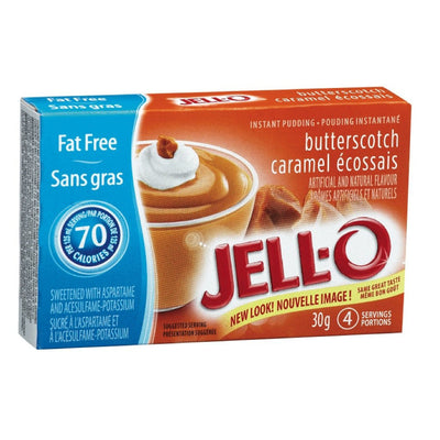 JELL-O POUDING INSTANT CARAMEL ECOSSE LEGER 30 G