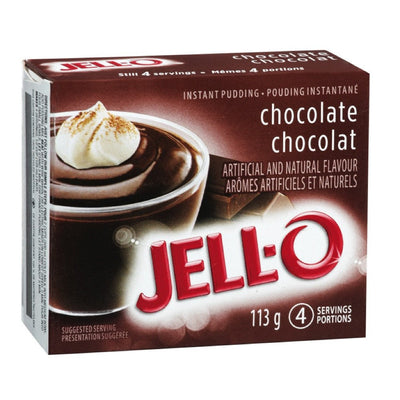 JELL-O POUDING INSTANT CHOCOLAT  113 G