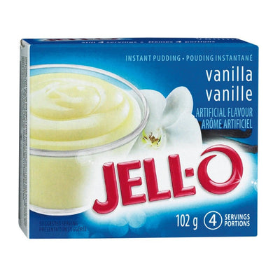 JELL-O POUDING INSTANT VANILLE 102 G