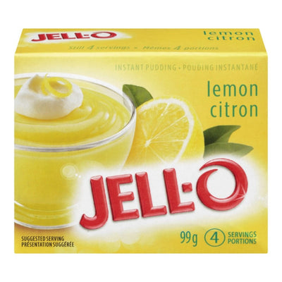 JELL-O POUDING INSTANT CITRON 99 G