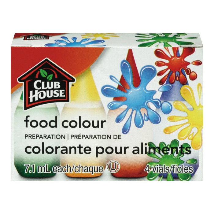 CLUB HOUSE COLORANT ALIMENT ASSORTIES 7 ML