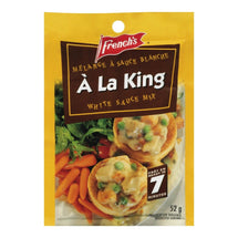 FRENCH'S SAUCE SACHET À  LA KING  52 G