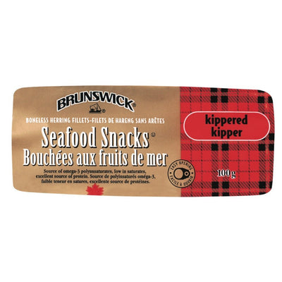 BRUNSWICK FILETS DE HARENG FUMÉS  100 G