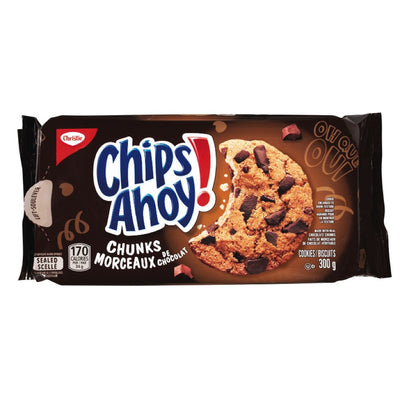 CHRISTIE BISCUITS CHIPS AHOY CHOCOLAT MORCEAUX 300 G